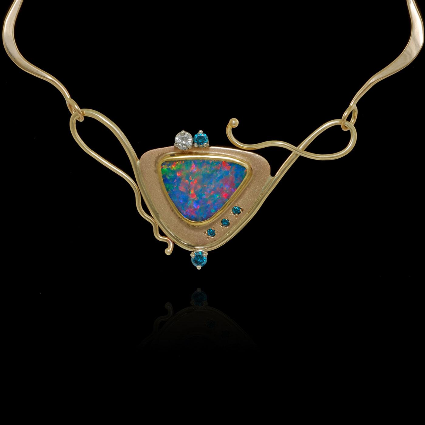 C4701 Opal Pendant