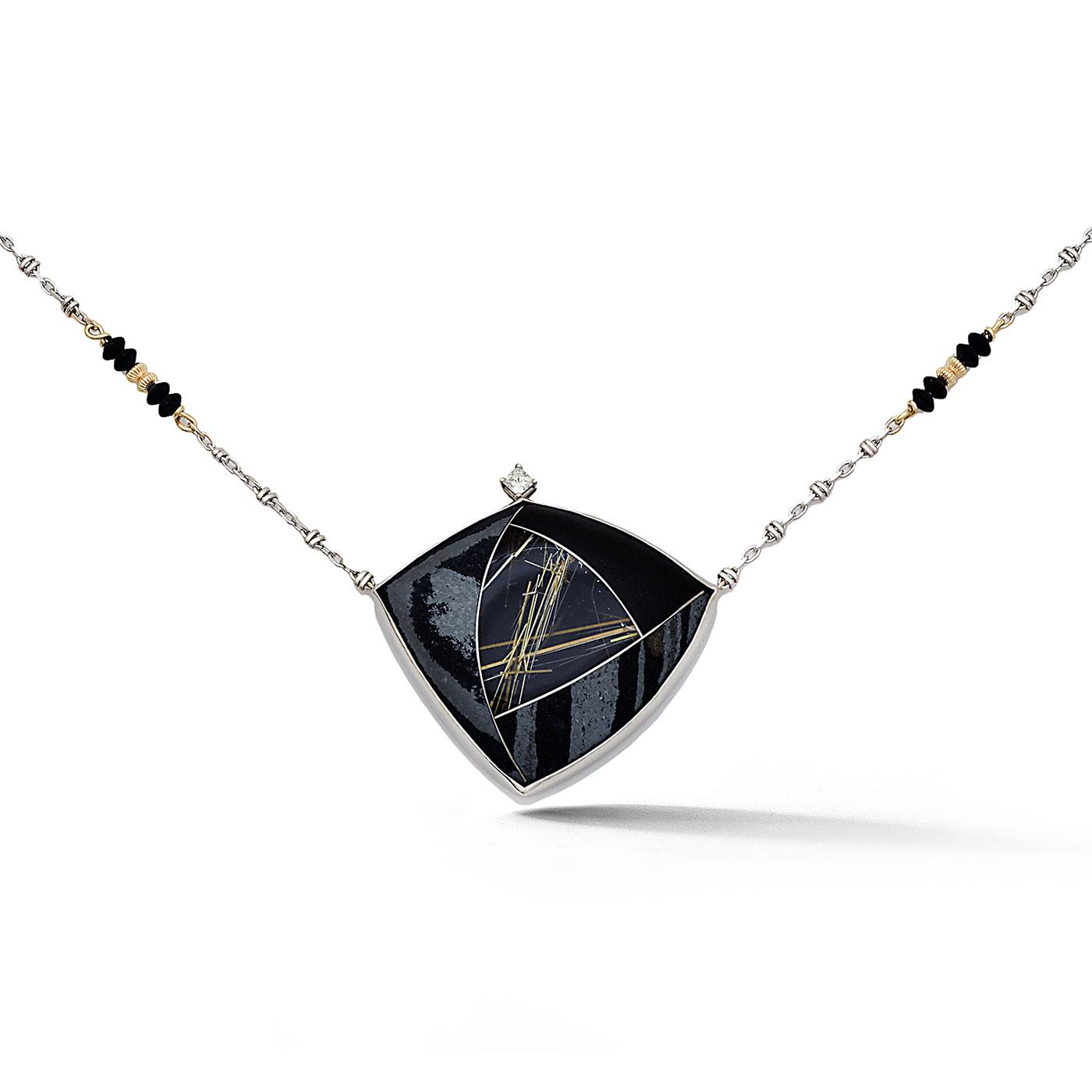 C7666 Custom Split Composite Gemstone Pendant