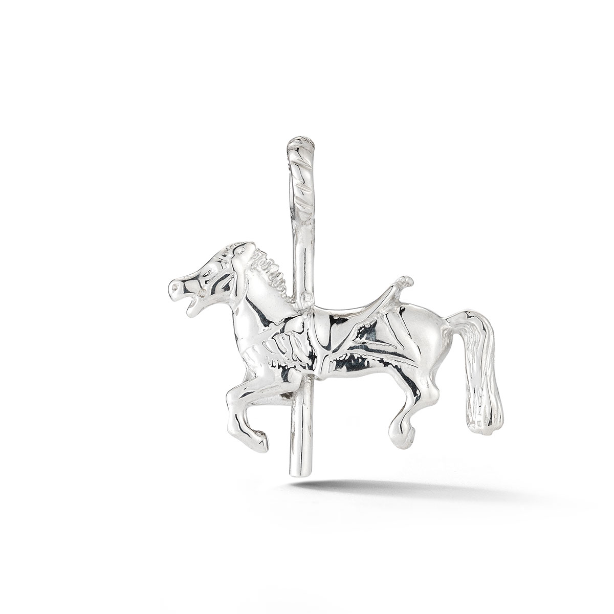 DJCHCHSM Carousel Horse Charm