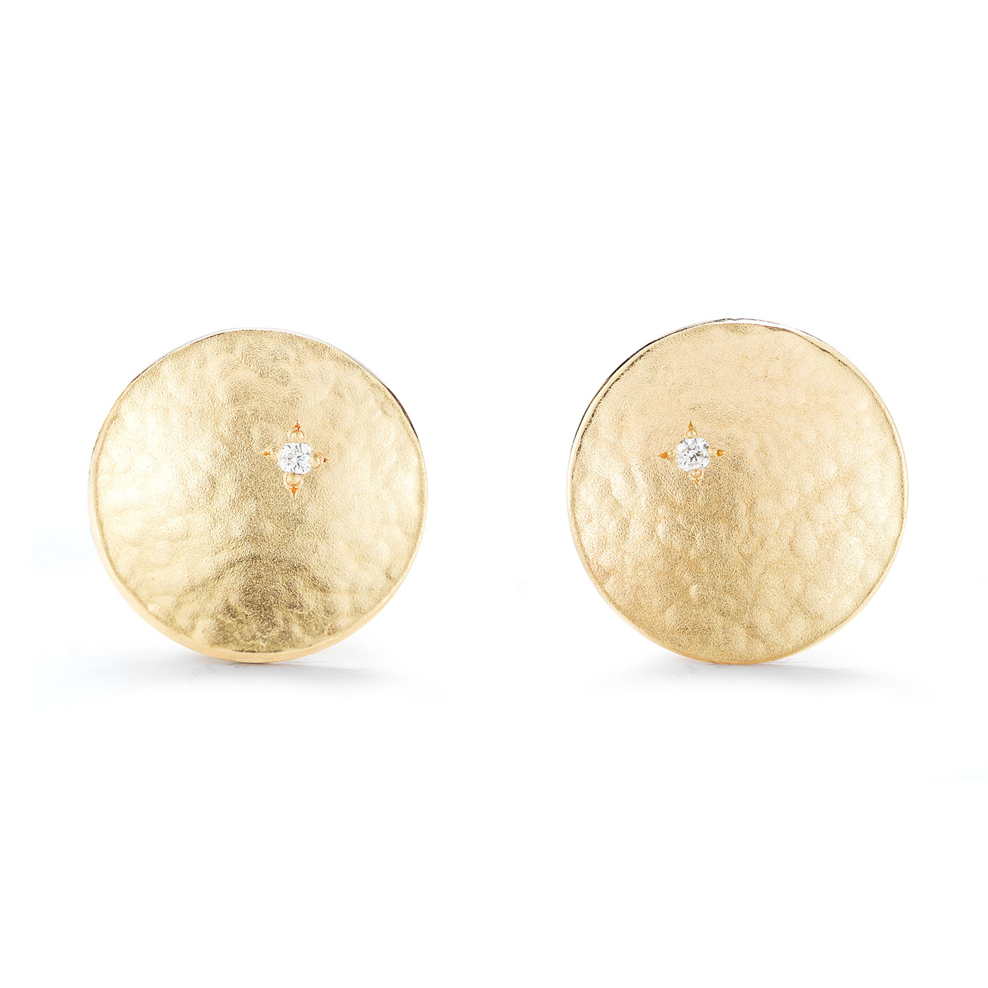 ER0211 Round Circle Stud Earrings