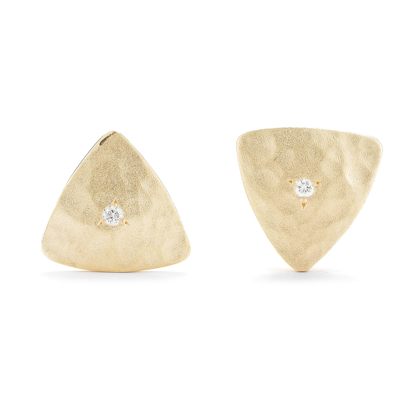 ER0212 Triangle Stud Earrings