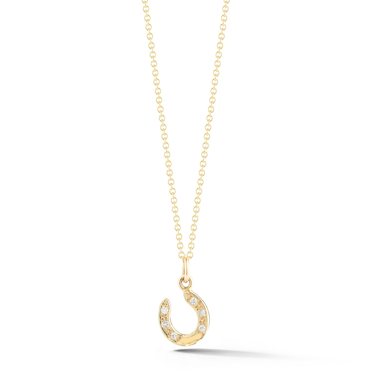 HNP0841SD Horseshoe Diamond Pendant