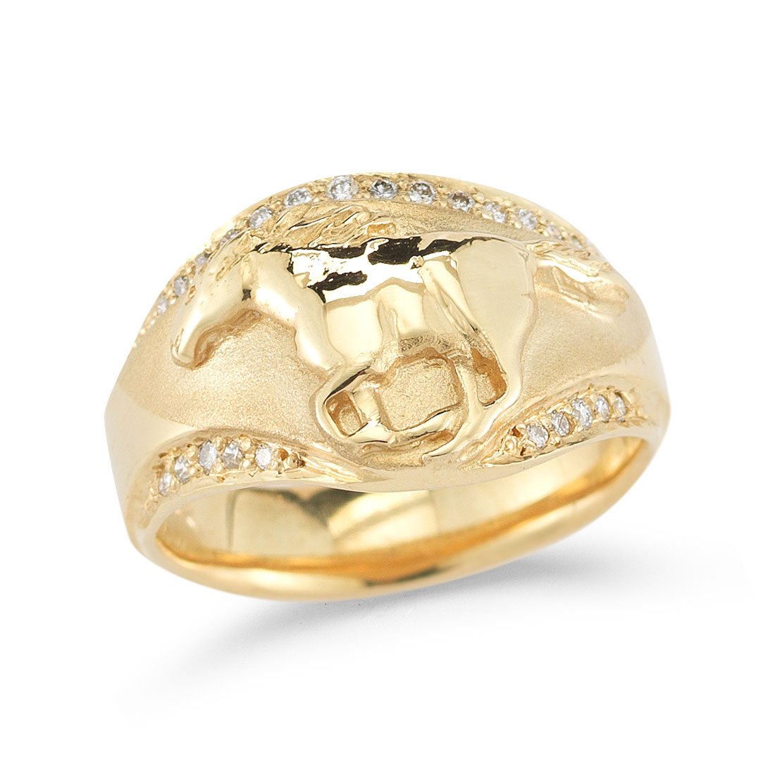 HR0826D Running Horse Ring