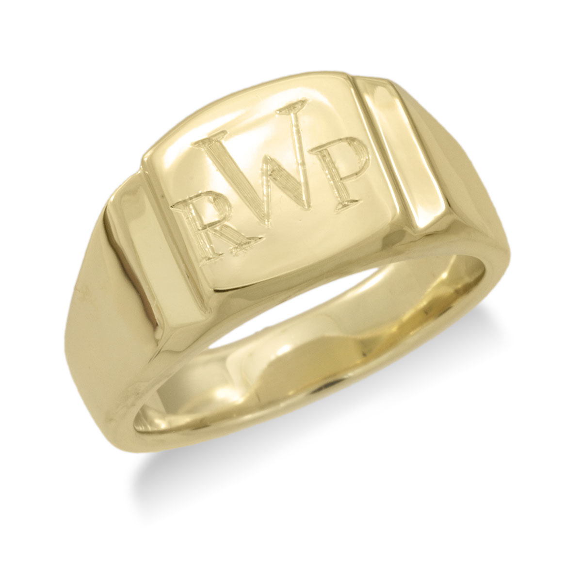 MR015 Men's Signet Ring