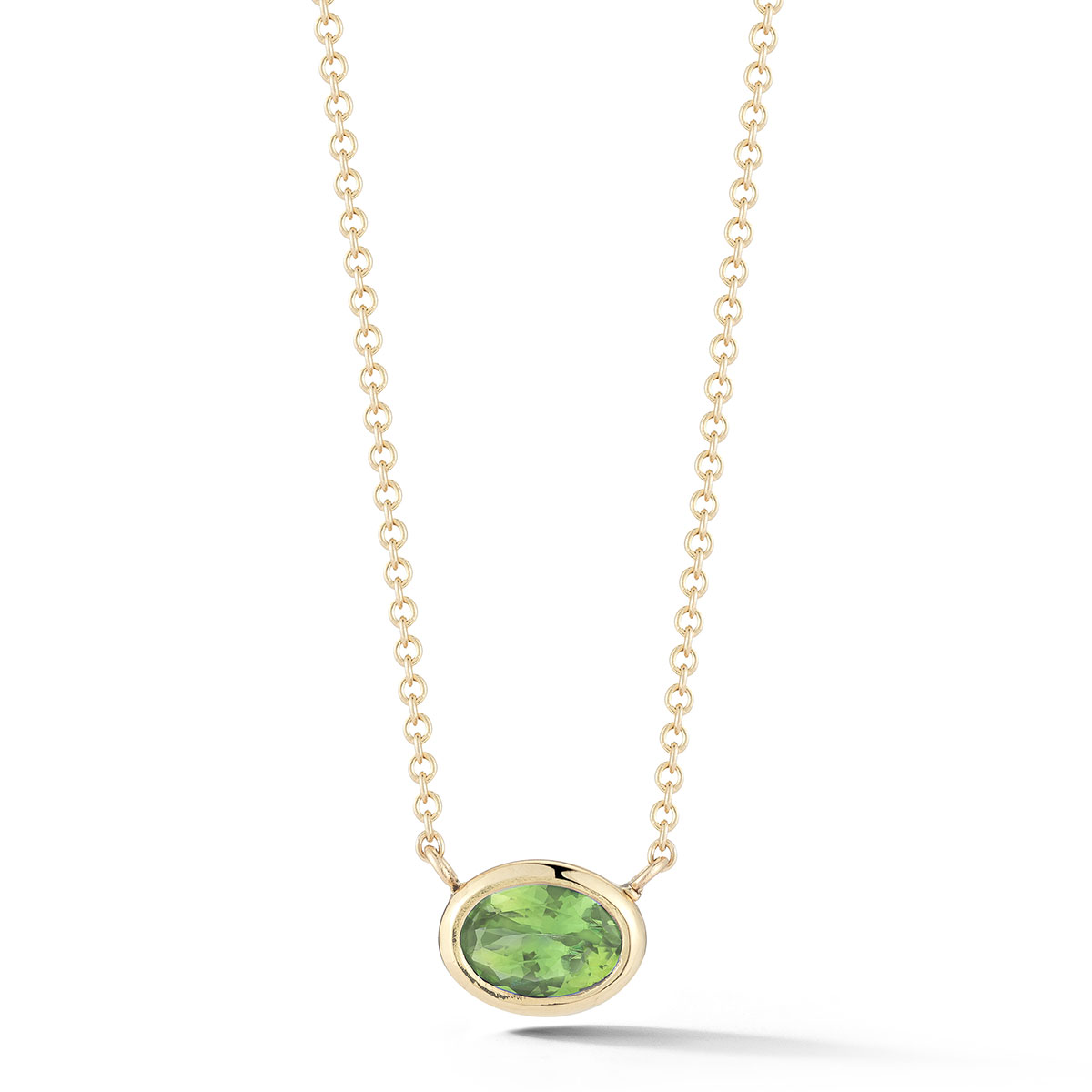 NP0184 Oval Bezel Set Pendants