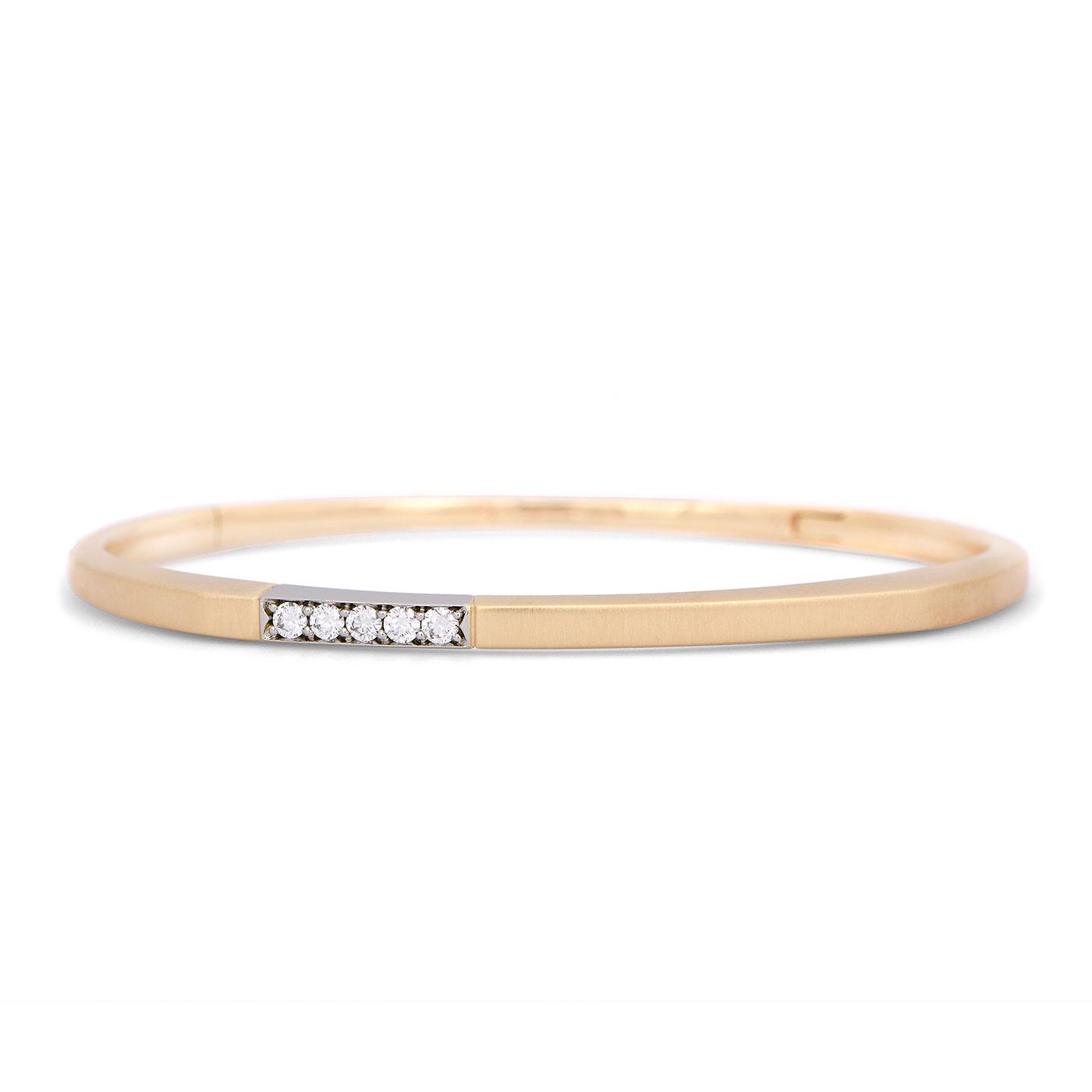 Pascal Lacroix Hinged Diamond Bracelet