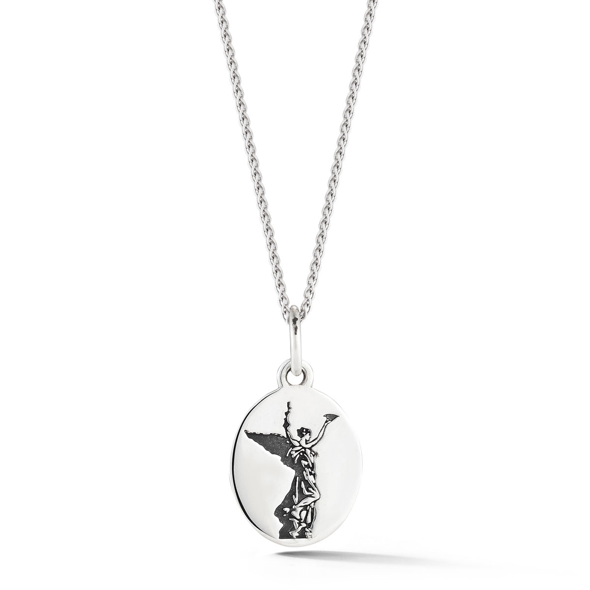 Spirit of Life Etched Disc charm