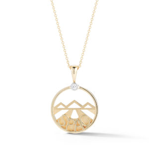SPAC Diamond Pendant