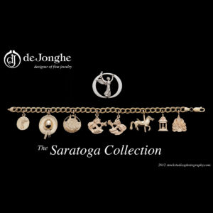 Saratoga Collection Charm Bracelet by deJonghe Jewelers
