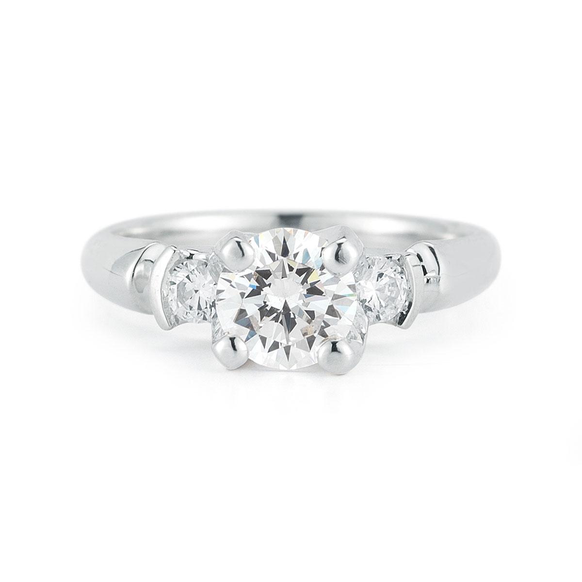 WR0220 Round Gemstone Ring