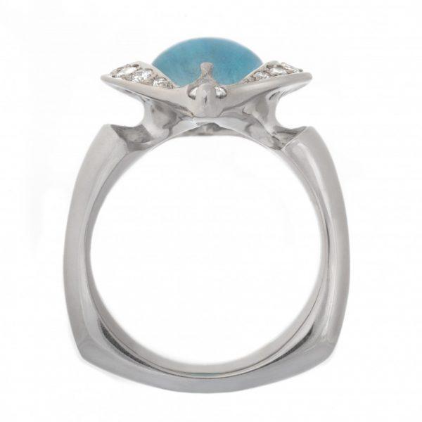 Award Winning Aquamarine Ring