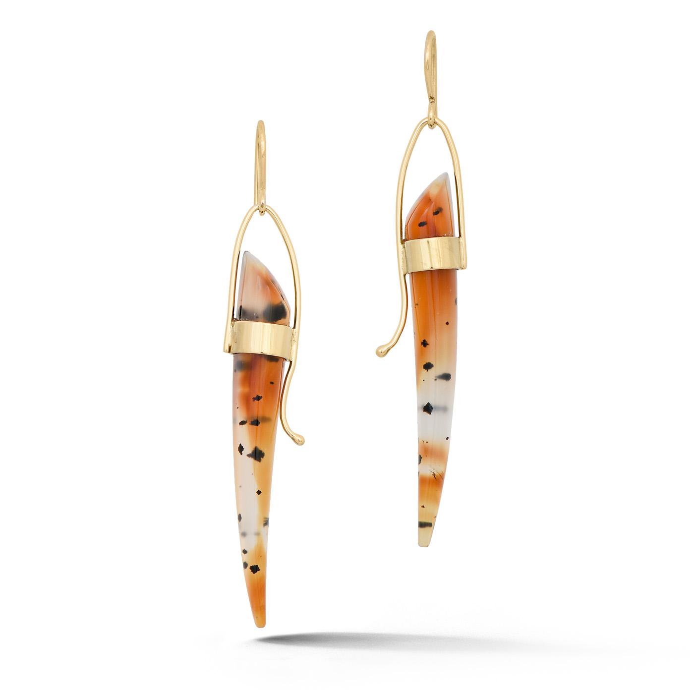 Montana Agate Earrings IND1095_A