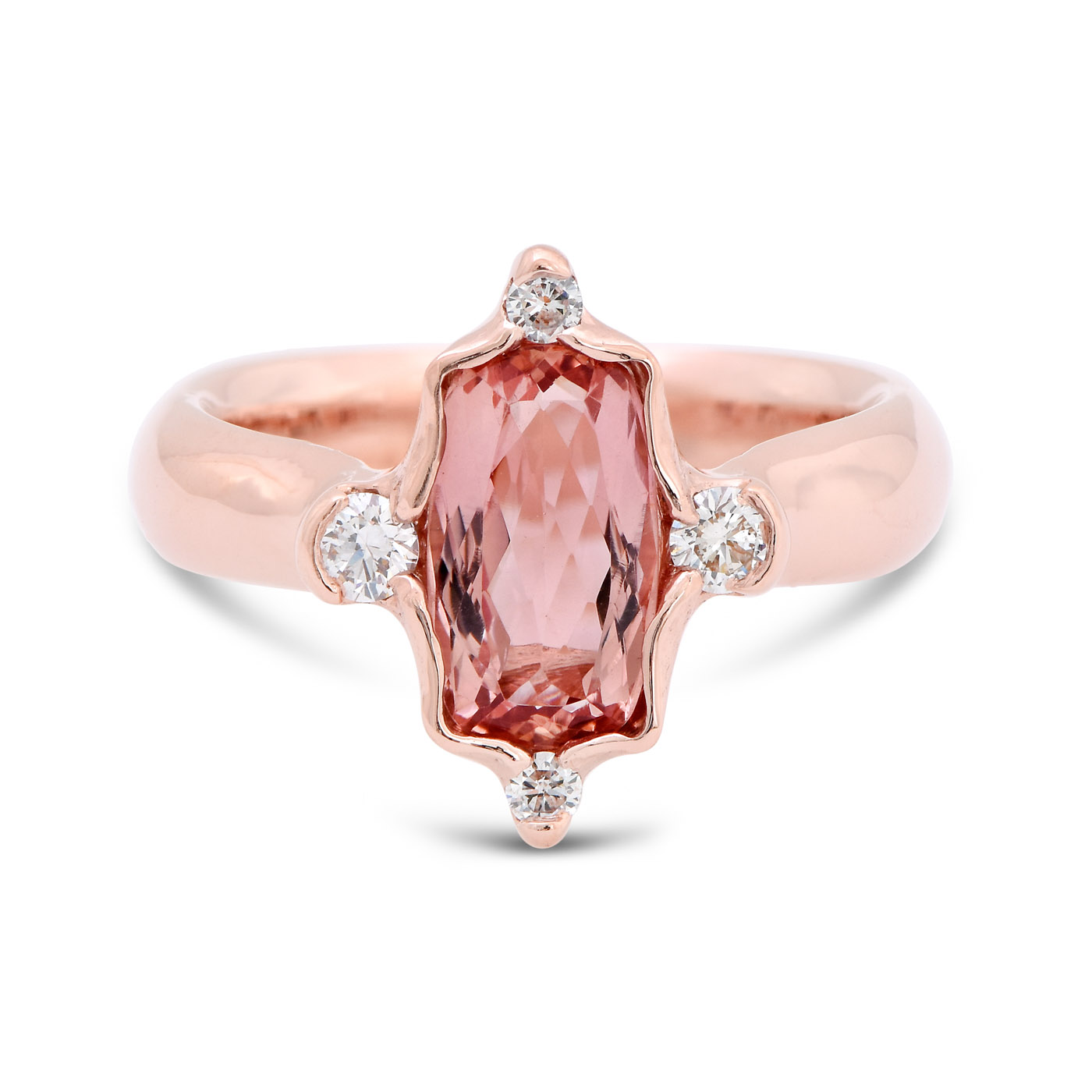 Imperial Topaz Rose Gold Ring - deJonghe Original Jewelry