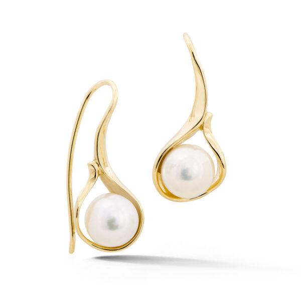 Pearl Drop Earrings - ER0107Y