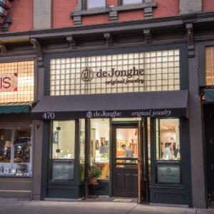 deJonghe Jewelry storefront