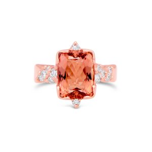 Imperial Topaz Rose Gold Ring