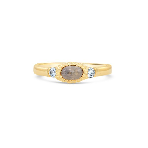 Diamond Cabochon Ring
