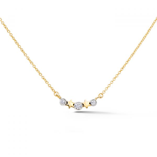Star and Diamond Pendant